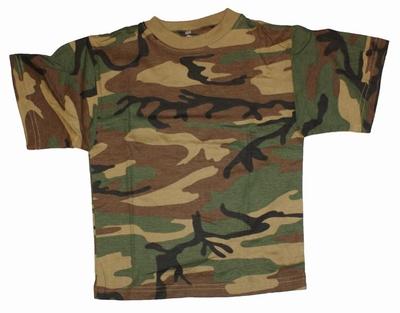 """Leger T-shirt   """" Groen  """""""