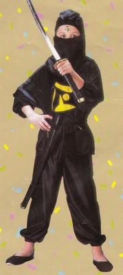 "Ninja  "" Print geel """