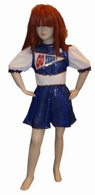 "Cheerleader  "" Blauw """