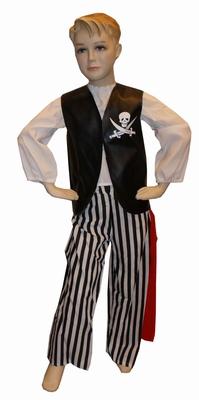 "Piraat  "" Zwart / wit  """