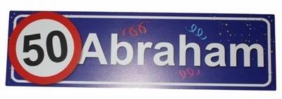 """Huldebord  """" 50  Abraham """""""