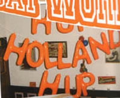 """Opblaasletters   """"  Hup holland hup """""""