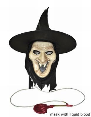 "Masker  "" Heks met bloed """