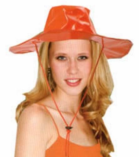 "Dames hoed "" Lak "" Oranje"