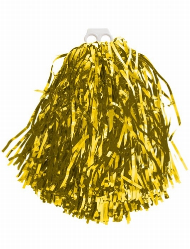 "Cheerleader pompon  ""  Metalic  goud  """