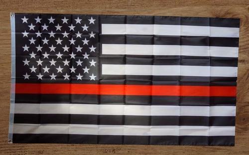 Americaanse politie gevelvlag