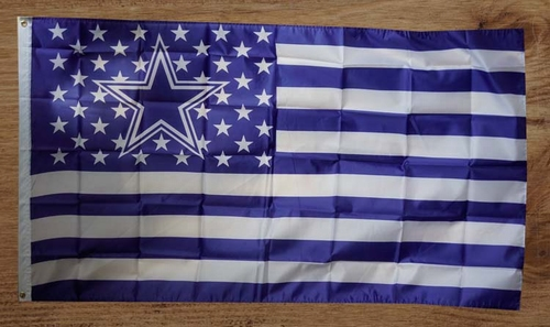 Dallas cowboy gevelvlag
