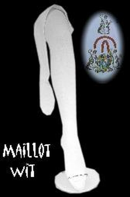 """Maillot  """" Wit """""""