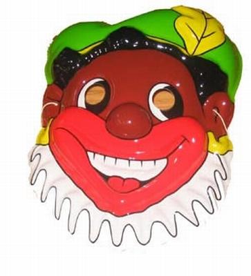 """Masker """" Zwarte piet """""""