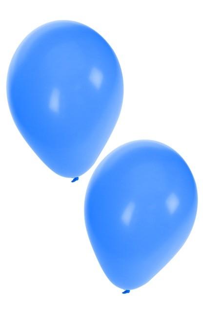 """Ballon  """" Blauw """"  per stuk"""