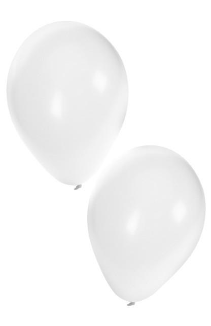 """Ballon  """" Wit """"  per stuk"""