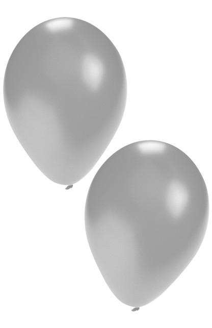 "Ballon  "" Zilver ""  per stuk"