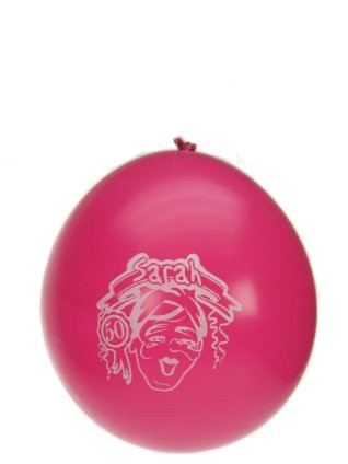 """Ballonnen  """" Sarah """" set van 8 stuks"""