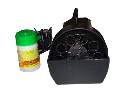 Bellenblaas machine  + Vloeistof 0,25 L