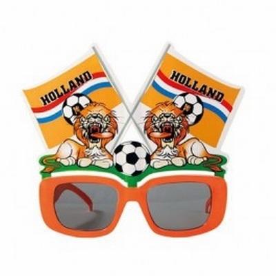 Bril vlaggetje met de tekst Holland