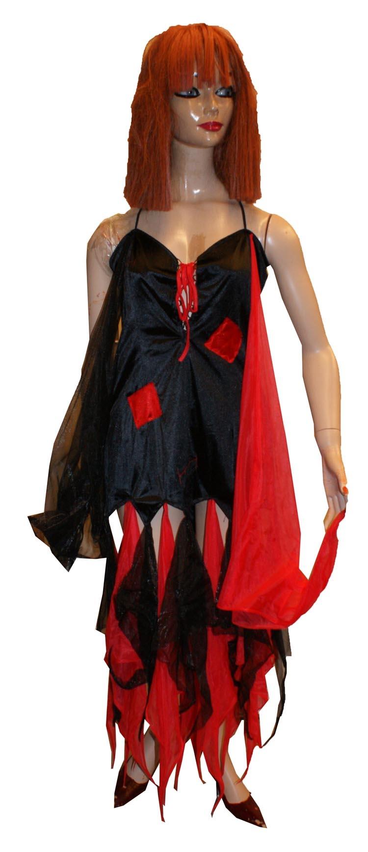 Duivelin rood / zwart