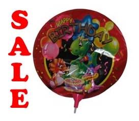 "Folie ballon  "" Happy Brithday   Draakje """