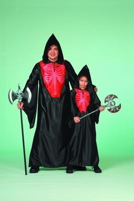 """Halloween skelet  """" Zwart / rood """""""