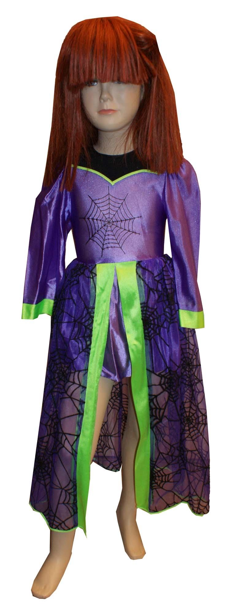 Heksenjurk paars / groen