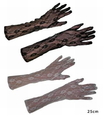 """Kanten handschoenen """" Bloemen """""""