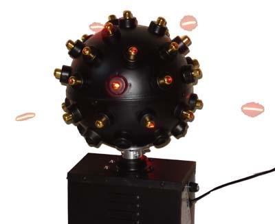 laser lamp bolvormige