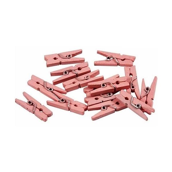 Mini wasknijpers  set van 20 stuks