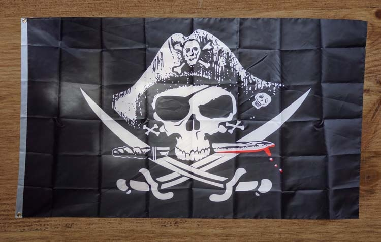 Piraten gevelvlag