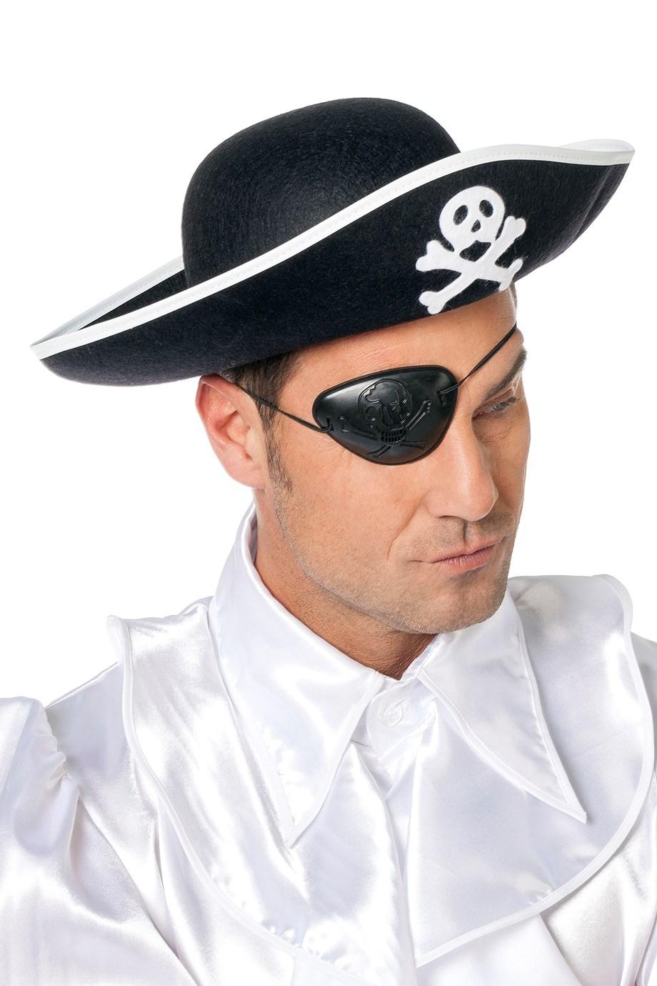 """Piraten hoed  """" Groot """""""