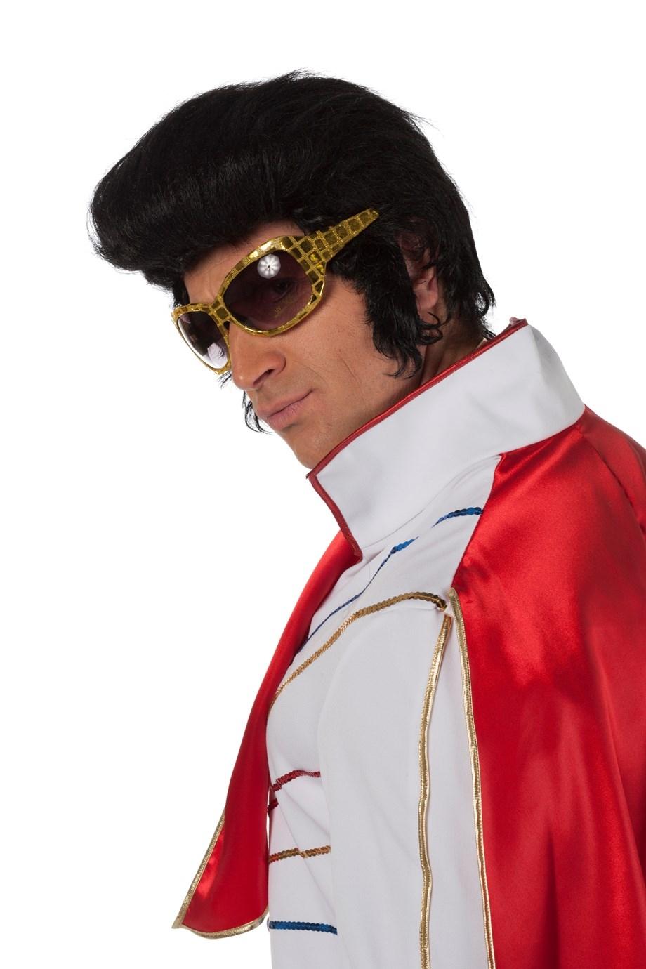 """Pruik  """" Elvis """""""