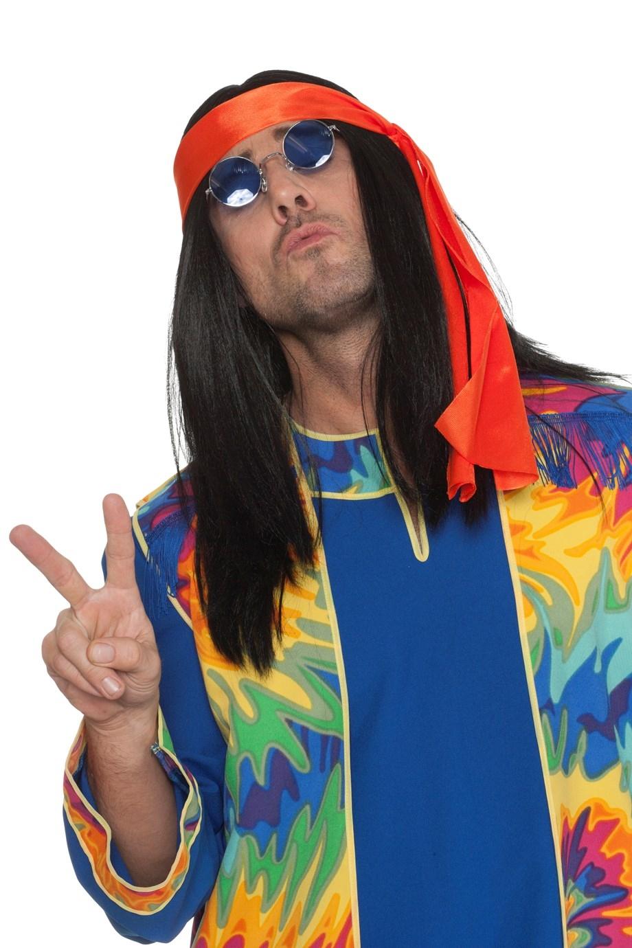 """Pruik  """" Hippie """""""