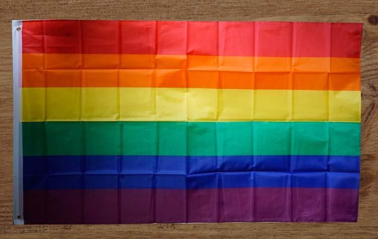 Regenboog gevelvlag