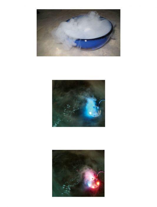 Rookmachine voor in het water