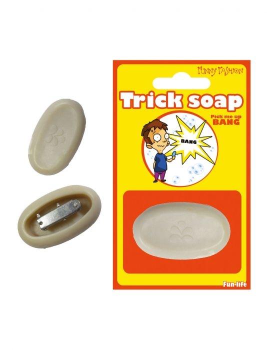 Weg springende zeep