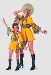 """Hippie meisje  """" Geel """""""