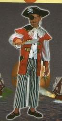 Zeerovers kostuum