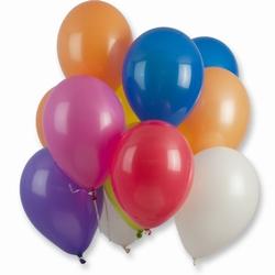 "Gekleurde ballonnen  "" 100 stuks """