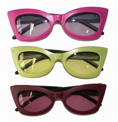 Gekleurde feestbril