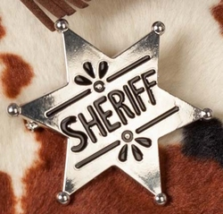 "Sheriff ster  "" Metaal """