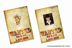 "Poster "" Wanted dead or alive """
