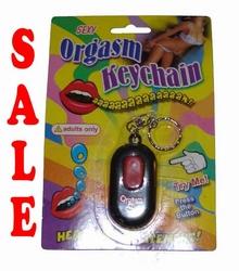 Orgasm sleutelhanger
