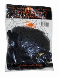 """Spinnenweb  """" Klein """"  zwart"""