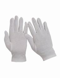 """Korte handschoenen """" 24 cm """"  Wit"""