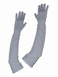 """Handschoenen """" Wit  """"  59 cm  lang"""