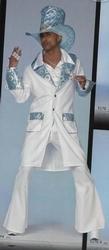 Disco man + hoed