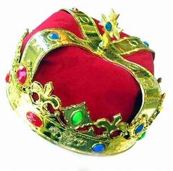 """Konings kroon  """" Goud / rood """""""
