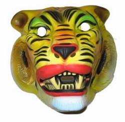 """Masker  """" Tijger geel """""""