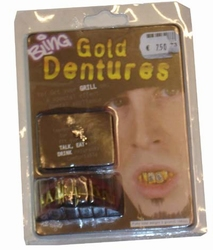 """Gebit  """" Gouden tand $ """""""