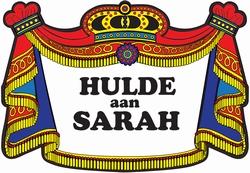"""Huldebord  """" Sarah """"  Klassiek"""