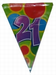 """Vlaggenlijn  """" 21 """""""