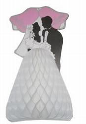 Decoratie bruidspaar